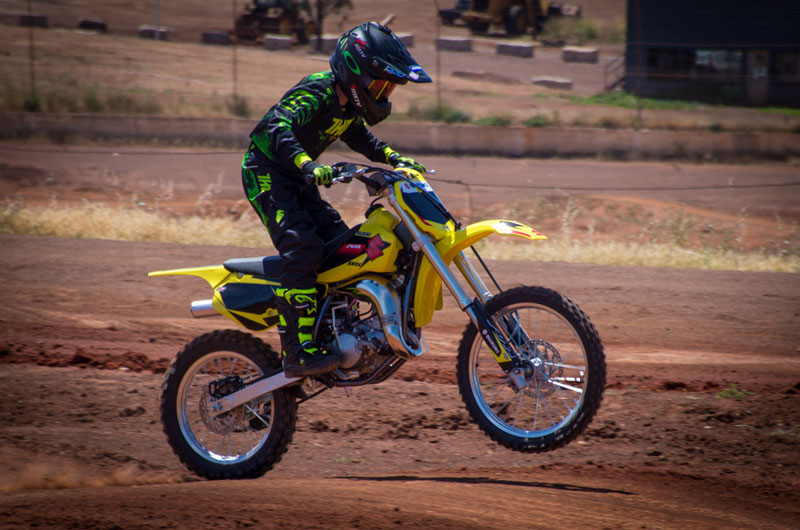 2018 Suzuki RM85L for sale at TeamMoto New Bikes - Virginia Suzuki
